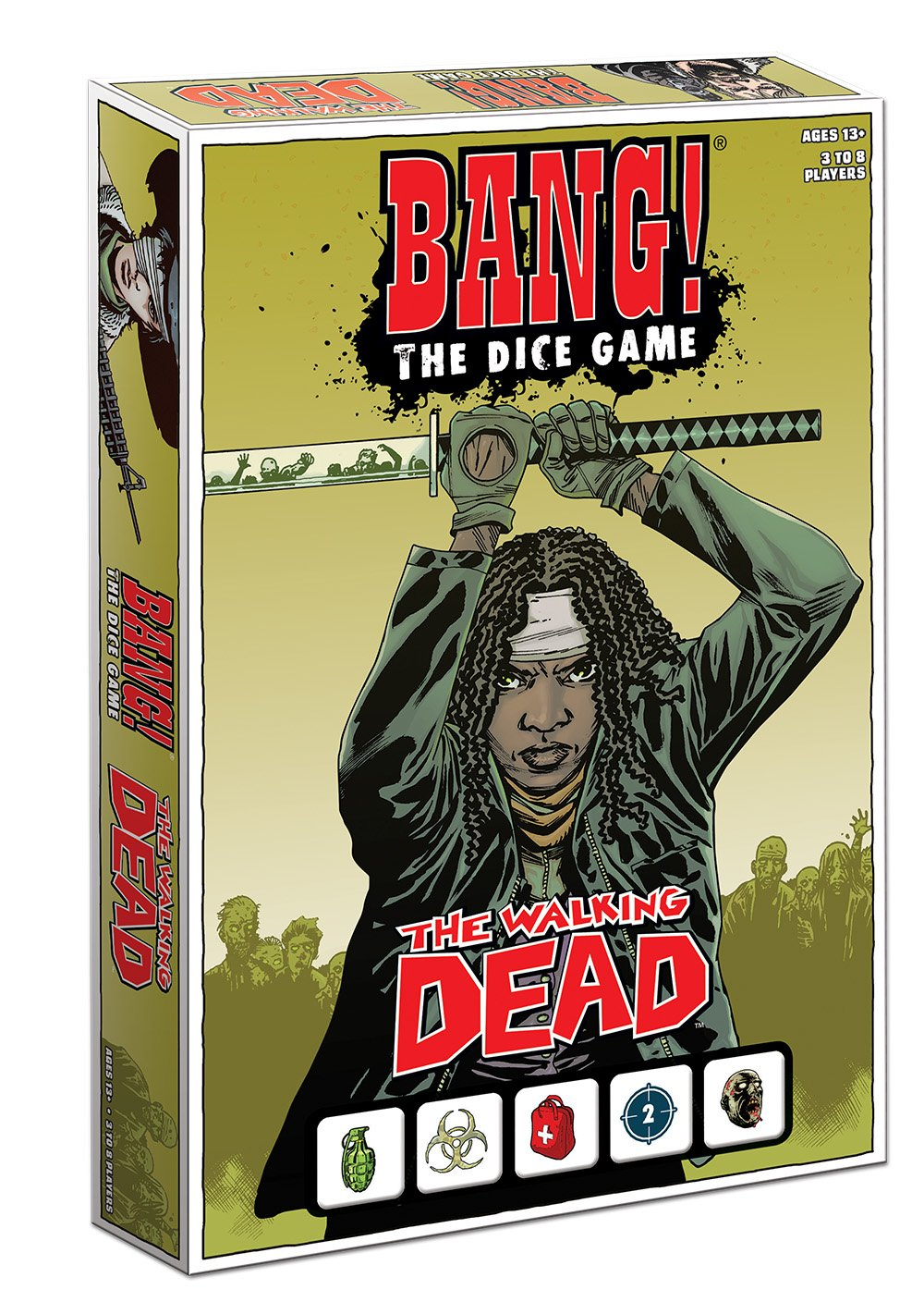Bang! the Dice Game: The Walking Dead: USAopoly: Amazon.es ...