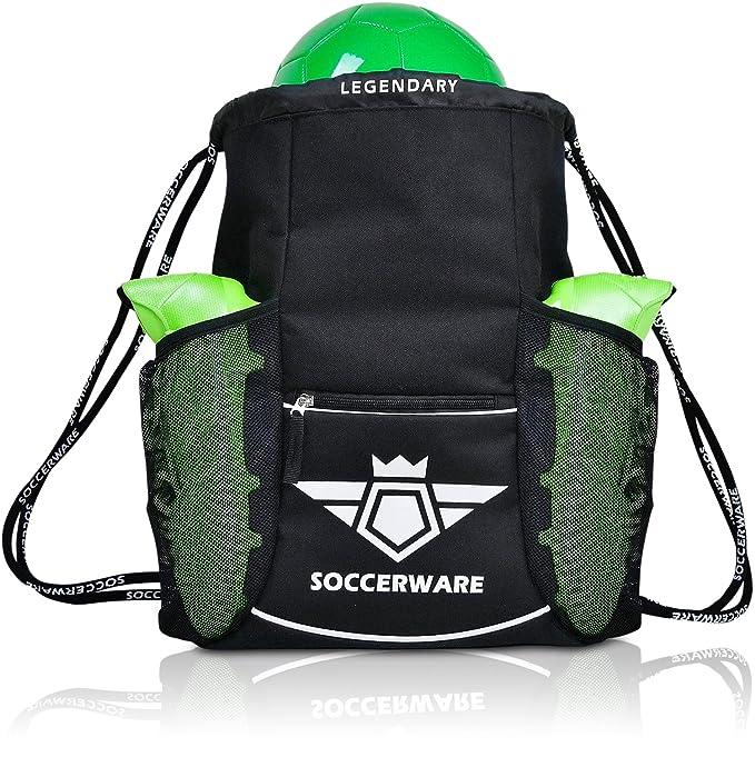 Amazon.com: Mochila de fútbol XL, para jóvenes ...
