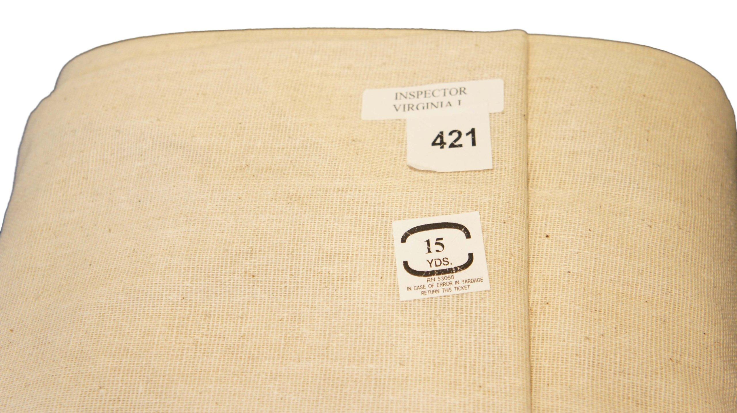 Unbleached Osnaburg 45'' 100% Cotton 25yd Bolt-Natural by Roc-lon (Image #2)