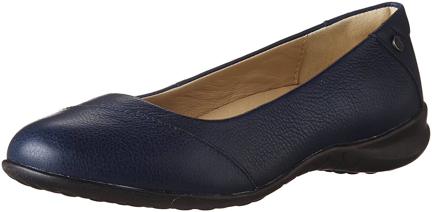 Navy Hush Puppies Womens Linnet Bria Slip-On Loafer