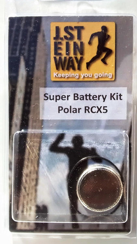 Kit batería e impermeable del sello para Polar RCX5 modelos de ...