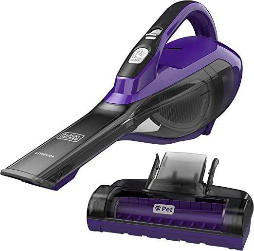 Black and Decker Dog Hair Vacuum