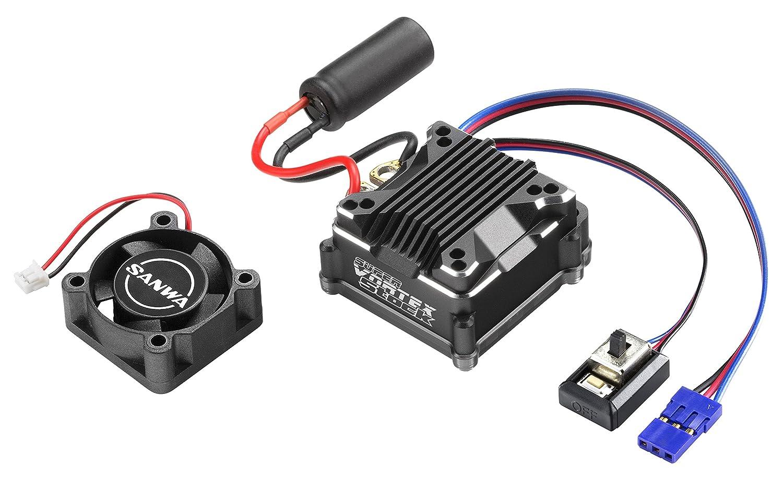 三和電子機器 SUPER VORTEX Stock センサー付 ブラシレスモーター専用 スピードコントローラー 107A54391A B01FXHQHHO