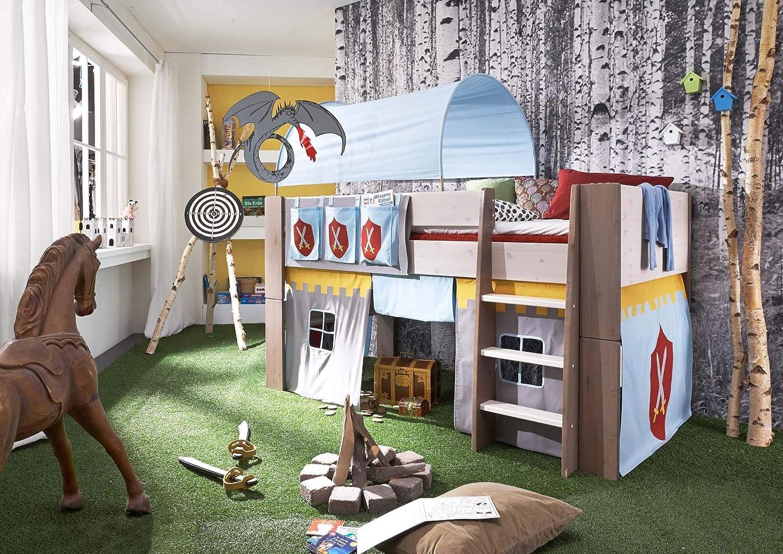 Steens Etagenbett Aufbauanleitung : Steens for kids kinderbett hochbett inkl lattenrost und
