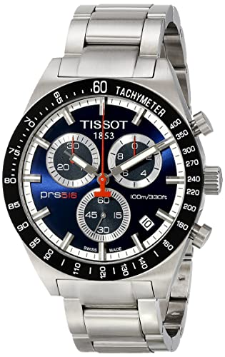 f567072faad Tissot T0444172104100 - Reloj para Hombres Color Plateado  Amazon.es   Relojes