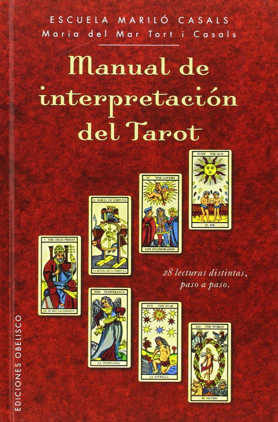 Manual De Interpretación Del Tarot (CARTOMANCIA): Amazon.es ...