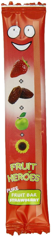 Fruit Heroes Strawberry Fruit Bar 20 g (Pack of 24) FRUH-STRAW