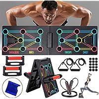 AOUZEA Push-up Board fitnessapparaten, 12-in-1 opvouwbaar multifunctioneel draagbaar push-up-board, fitnessapparaten met…