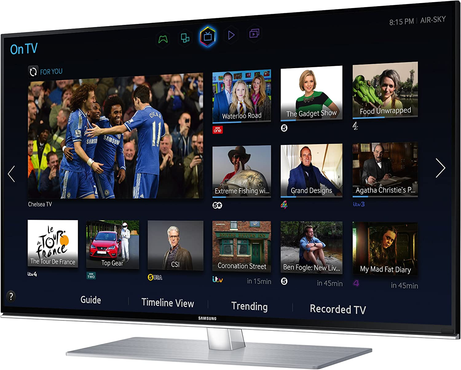 Samsung UE55H6700 55-inch Widescreen Full HD 1080p 3D Slim LED Smart TV with Quad Core Processor and Freeview HD: Amazon.es: Electrónica