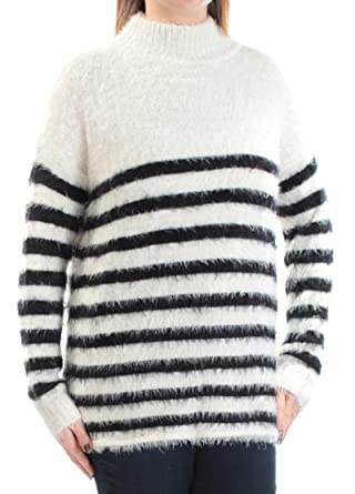 8b3c8607e7f Sanctuary $89 Womens New 1088 White Black Striped Eyelash Material ...