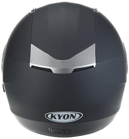 Amazon.es: Protectwear Casco de moto mate negro con visera solar integrada H520-ES Tamaño M