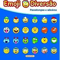 Emoji Diversão Azul: Passatempos Diversão: 01
