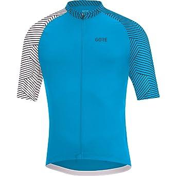 Amazon.com   GORE Wear Men s Breathable Short Sleeve Racing Shirt ... e7eb40e3f