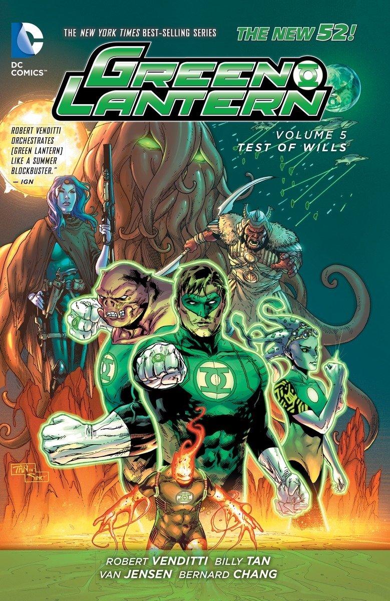 Download Green Lantern Vol. 5: Test of Wills (The New 52) PDF