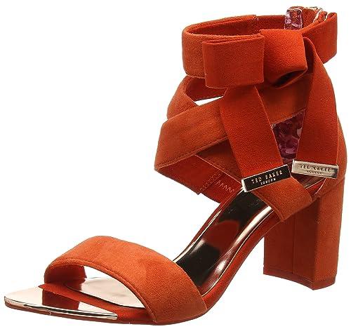 efc76ab8234579 Ted Baker Women s Noxen 2 Ankle Strap Sandals  Amazon.co.uk  Shoes ...