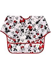 Bumkins Sleeved Bib Classic Minnie, Multi-Color