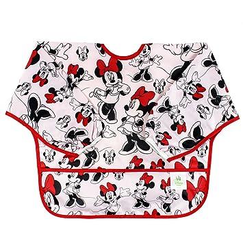 6-24 Months Stain /& Odor Resistant Minnie Mouse Washable 3 Pack Waterproof Bumkins Disney SuperBib Baby Bib