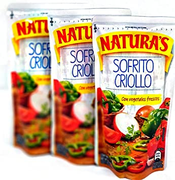 NATURAS SOFRITO CRIOLLO 8 OZ (PACK OF ...