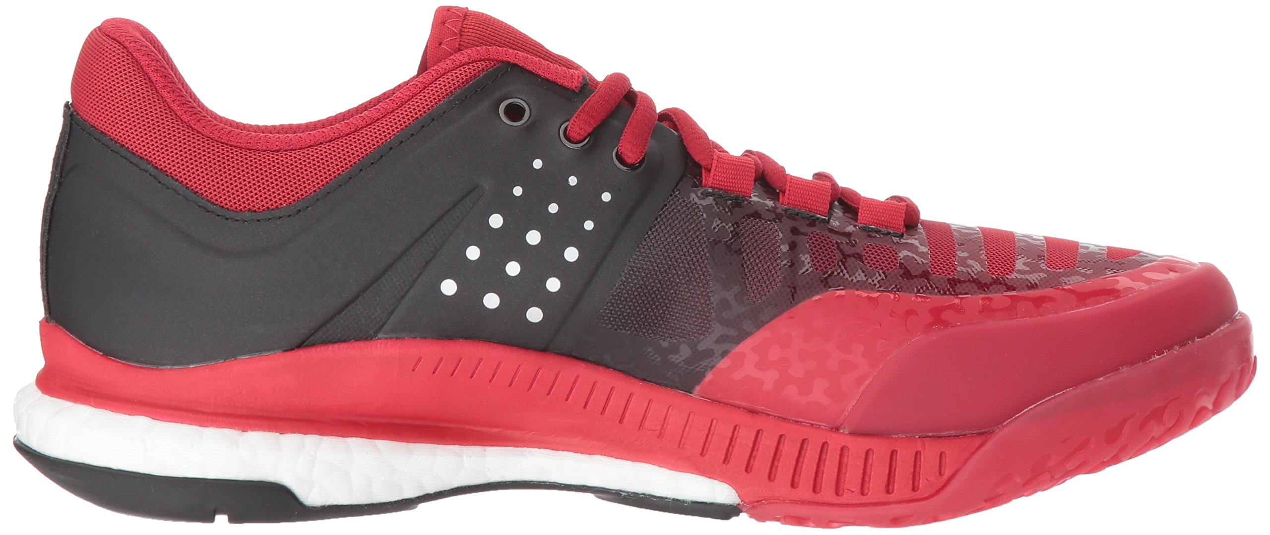Adidas Women's Shoes Crazyflight X Volleyball Shoe Black/Metallic Silver/Power Red,7.5 by adidas Originals (Image #7)