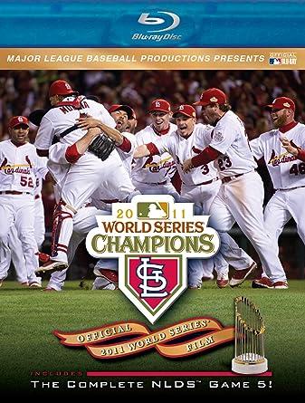Amazon com: 2011 World Series Champions: St  Louis Cardinals [Blu