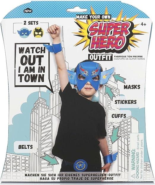 Amazon.com: NPW-USA Make Your Own Superhero Outfit Kit ...