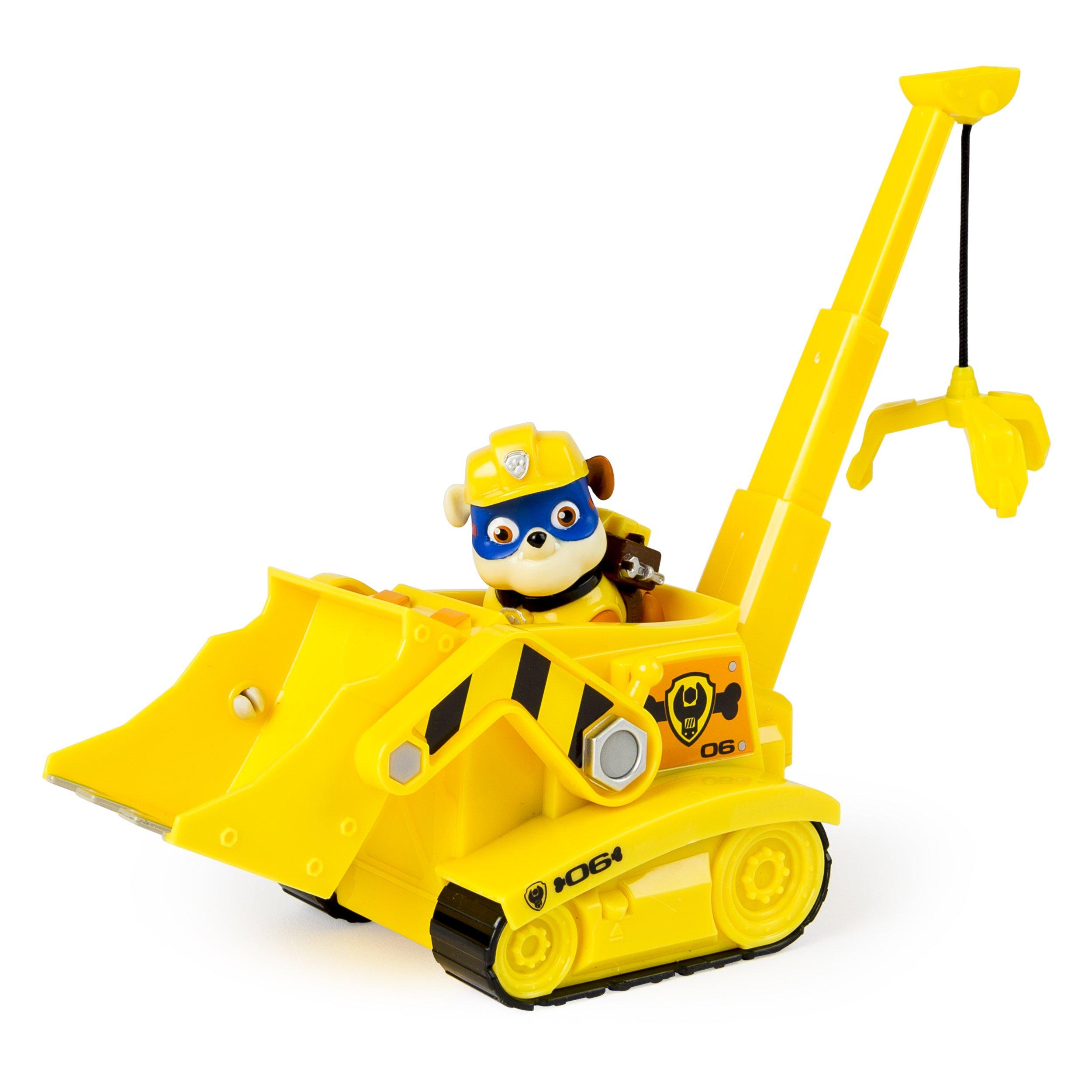 Paw Patrol Super Pup Rubble's Crane, Vehicle Figure by Paw Patrol (Image #3)