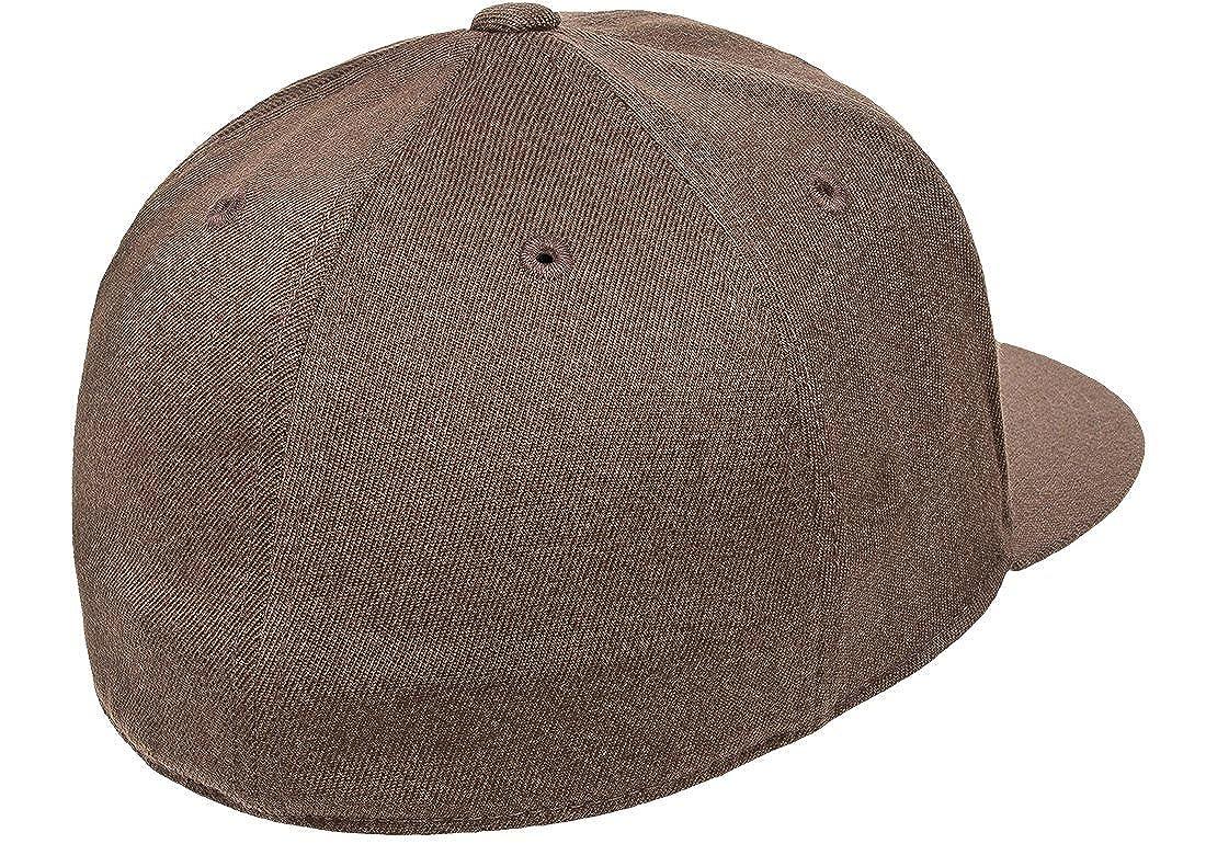 66eec1d1c Flexfit Premium 210 Fitted Flat Brim Baseball Hat w/THP No Sweat Headliner  Bundle Pack