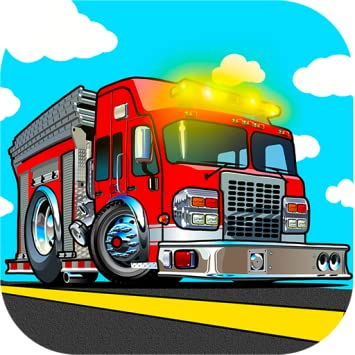 Amazon com: Fire truck games for kids free activity app