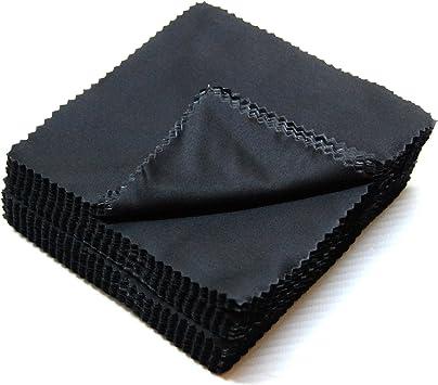 5x Quality Black Superfine Microfibre cloth ipad Camera Lens Screen Glasses