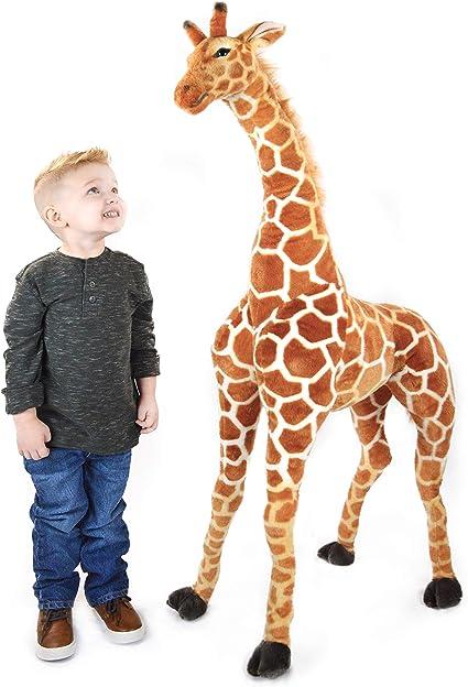 Amazon.com: VIAHART Jani La jirafa sabana | 52 pulgadas ...