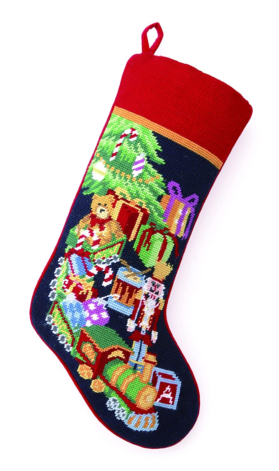 Christmas Toys Needlepoint Stockings