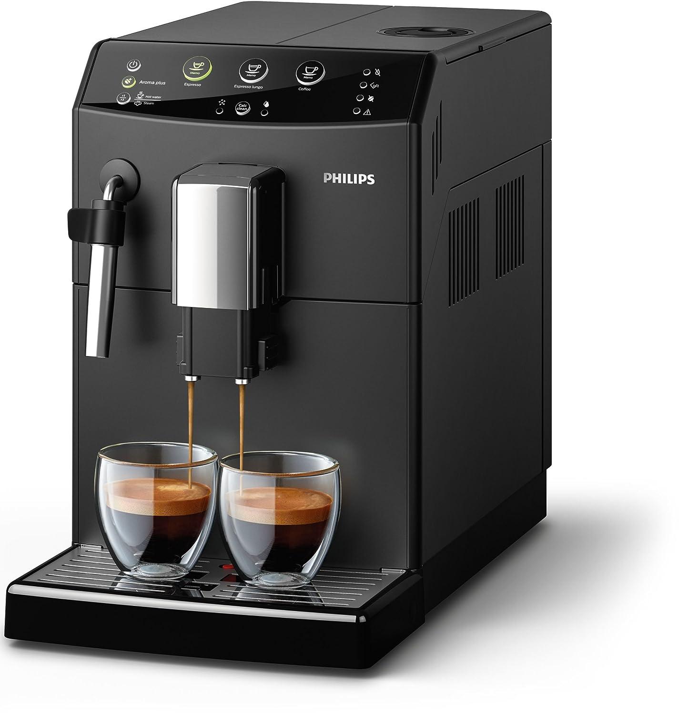 Philips HD8827/09 Máquina espresso 1850 W, 1.8 litros, De plástico, Acero Inoxidable, Negro: Amazon.es: Hogar