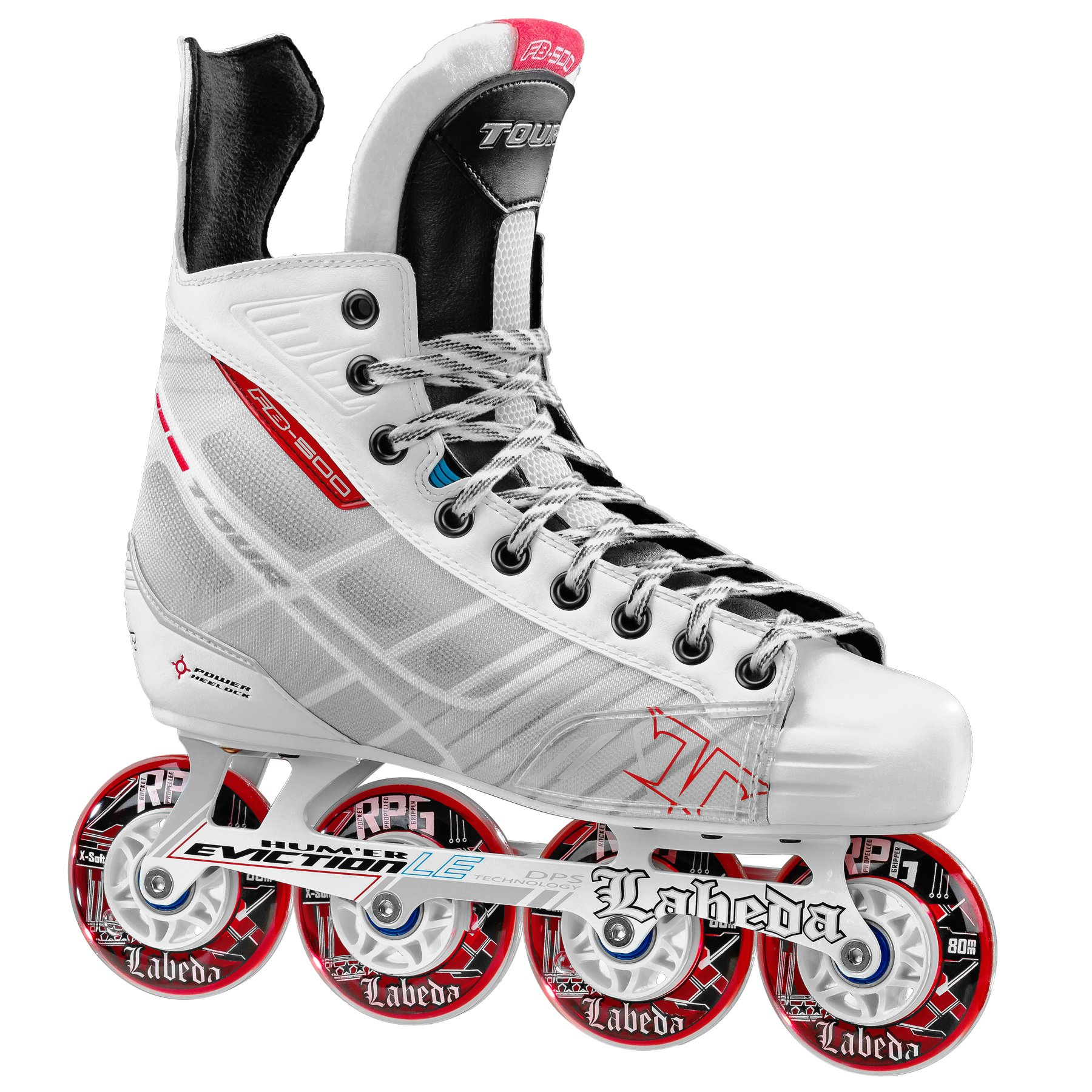 Tour Hockey BoneLite 500 Inline Hockey Skate, White, 3 by Tour Hockey