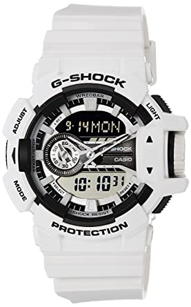 8097f93f3604 Amazon.com  Casio G-Shock GA-400-7A Multi-Dimensional Analog Digital ...