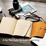 Homesure  Leather Journal Notebook 5x7 inches