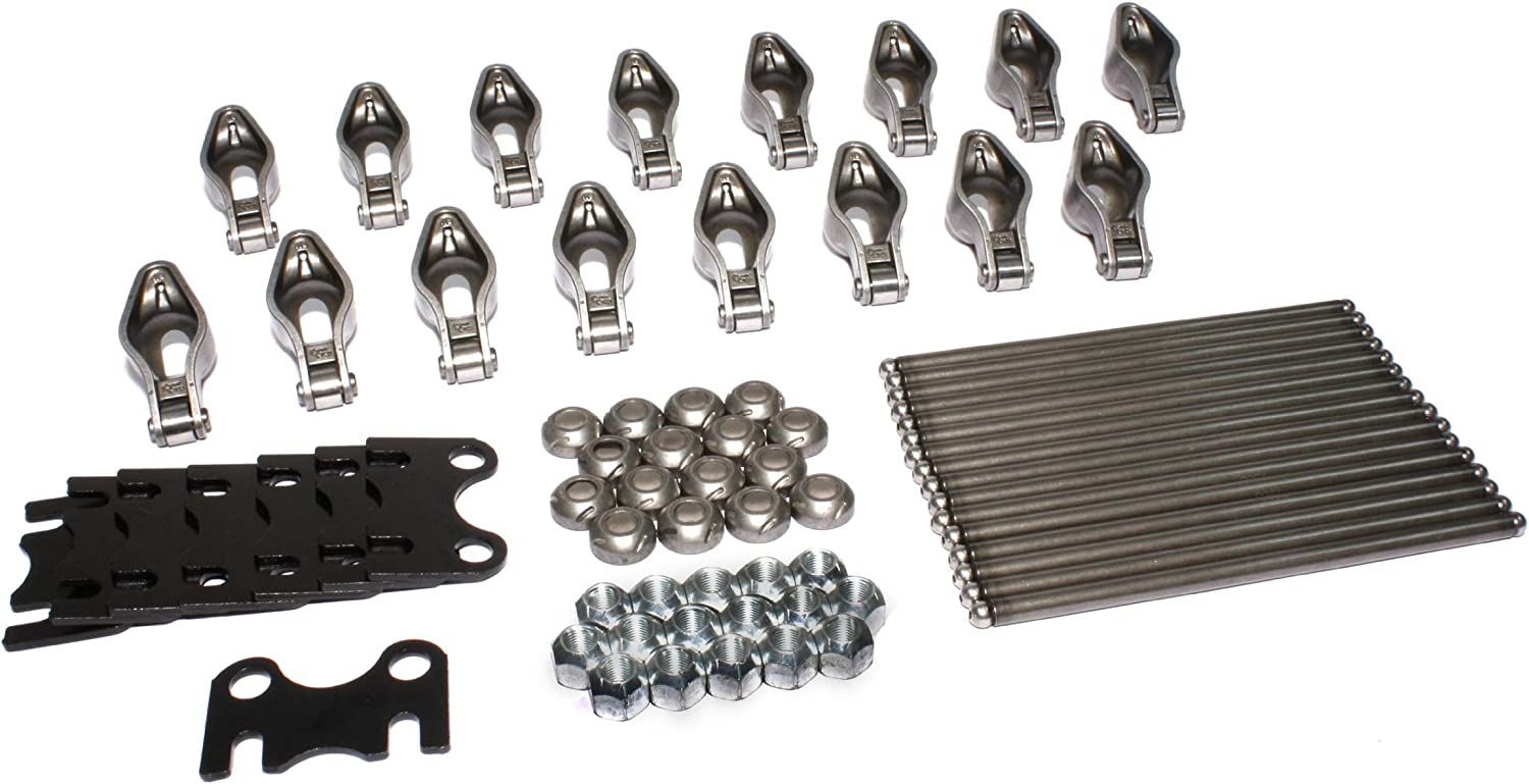 Magnum 1.52 Rocker and HE Pushrod Kit for Chevrolet 262-400 Small Block