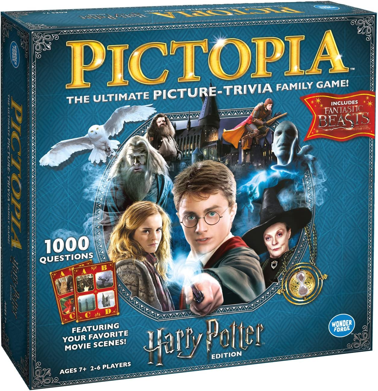 Ravensburger 22491 Pictopia Harry Potter Edition - Imagen Trivia ...