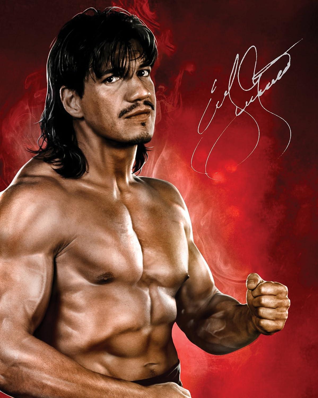 EDDIE GUERRERO - WWE 110x 8Lab Qualität unterzeichnet Foto Print