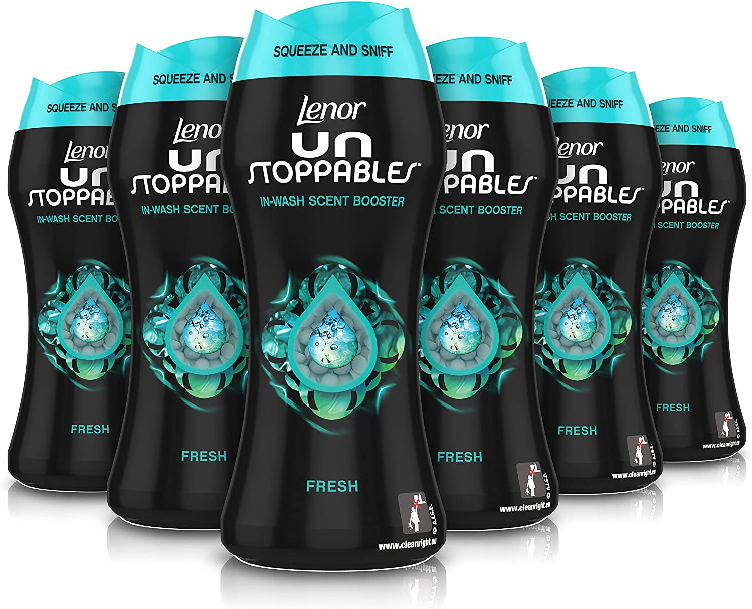 Lenor unstoppables Bliss in-wash aroma Booster Beads, 275g–Pack de 6