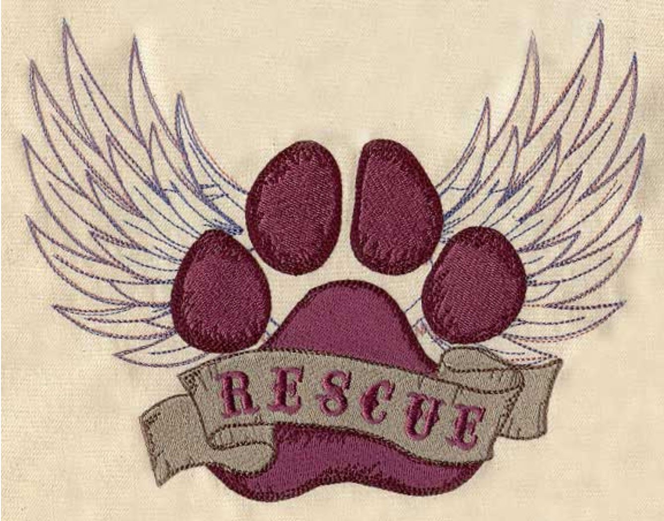 Animal Dog Cat Rescue Custom Embroidered Sweatshirt Shirt