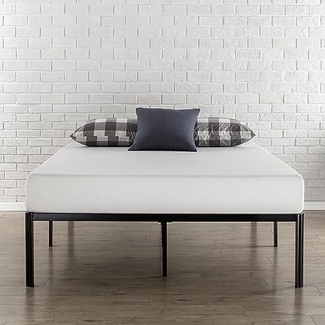 Zinus Bastidor para cama de plataforma de metal con esquinas ...