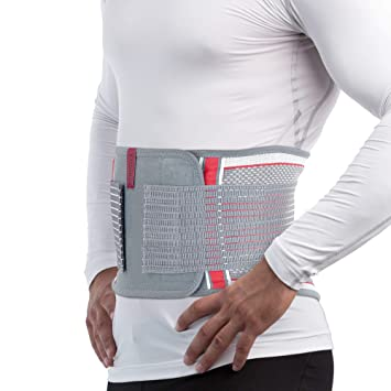 eeed923d298 ORTONYX Back Brace Lumbar Support Belt with Removable Lumbar Pad for Lower  Back Pain Relief -
