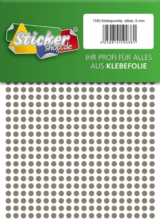 Klebepunkte aus PVC Folie Markierungspunkte Kreise Punkte Aufkleber wetterfest 100 mm, blau