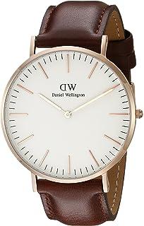 Daniel Wellington hombre-reloj analógico de cuarzo (talla única, colour blanco)