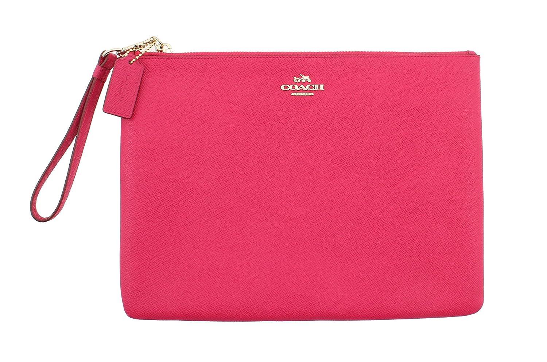 Coach iPad Clutch Leather in Pink Ruby 63460 LIBAJ