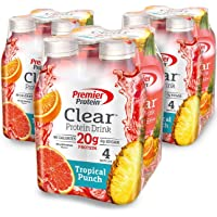 12-Pack Premier Protein Clear Protein Drink Tropical Punch (16.9-oz)
