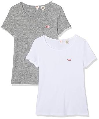 Levi's 2pack Tee T Shirt Femme