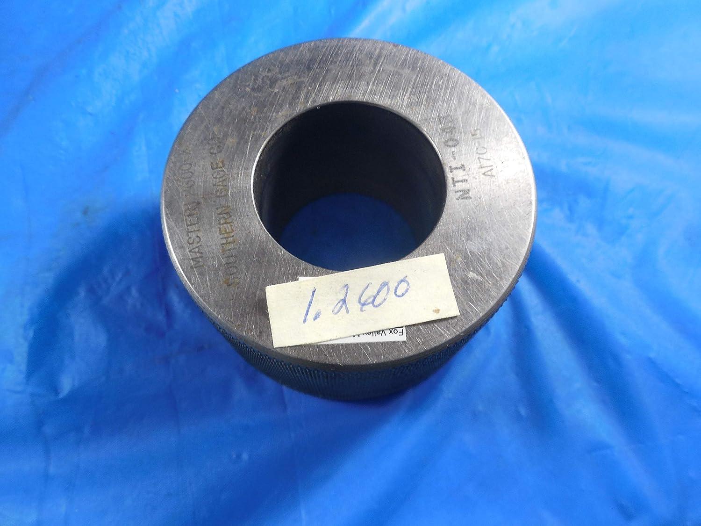 1.2600 Class X Master Plain BORE Ring GAGE 1.2500 1 1//4 32 mm W//AIR Plug 1.2603