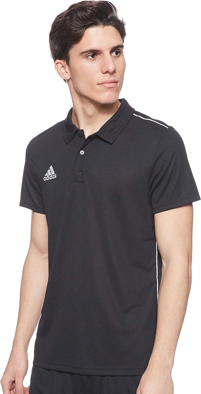 adidas Core18 Polo - Camiseta Polo Hombre: Amazon.es: Ropa y ...