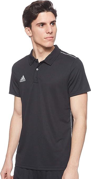 TALLA M. adidas Core18 Polo - Camiseta Polo Hombre